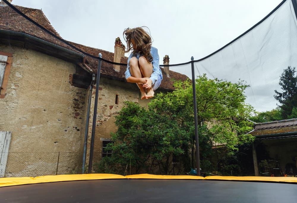 tilbehør til trampolinen i haven