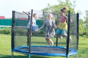 børnetrampolin til haven