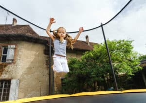 trampolin tilbehør til den sikre trampolin