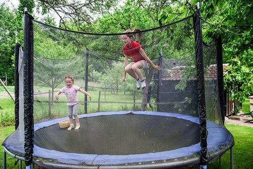 bedste trampolin til haven