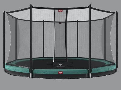BERG Favorit 430 InGround inkl sikkerhedsnet Comfort