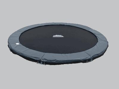 Jumpmaster 430cm inground i grå