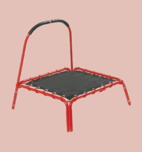 Mini trampolin for børnene