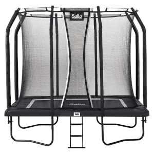 Firkantet Salta trampolin premium - 244 x 396 cm