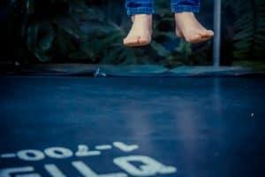 Salta trampolin