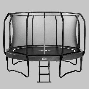 Salta trampolin 427 cm med sikkerhedsnet – First Class