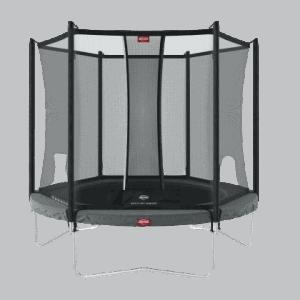 lille BERG Favorit 200 Grå inkl Comfort sikkerhedsnet